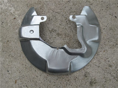 Picture of brake dust shield front left