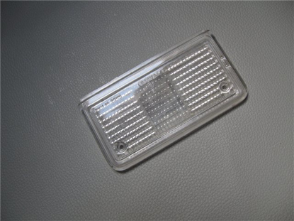 Picture of reverse lens, tail light, white, left