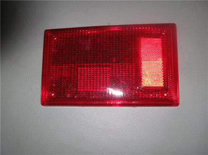 Picture of brake lens, tail light, red, left