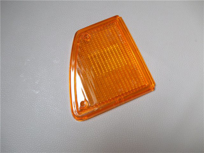Picture of lense turn signal, tail light, left, orange