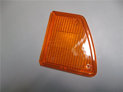 Picture of lens turn signal, tail light, orange, right