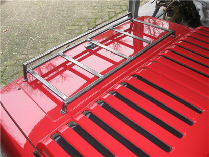 Picture of luggage rack, metal