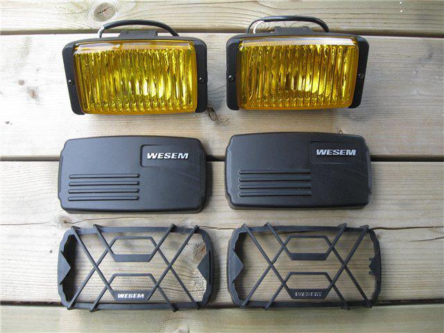 Afbeeldingen van mistlampen WESEM, geel