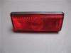 Afbeeldingen van zijknipperlicht, rood, USA model