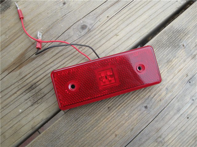 Afbeeldingen van zijknipperlicht, LED, rood