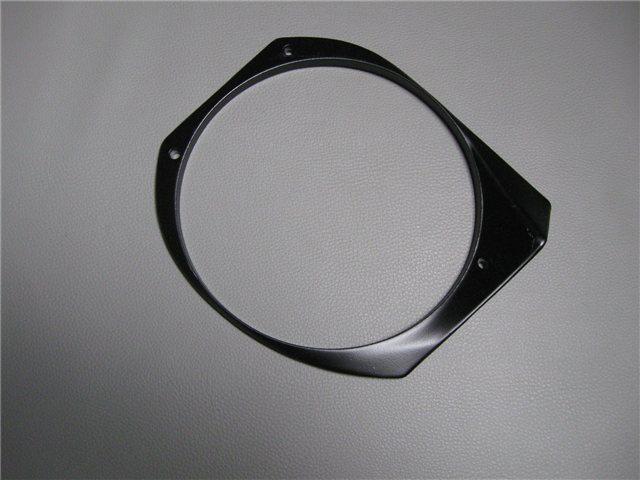Afbeeldingen van bevestigingsring koplamp, links, zwart