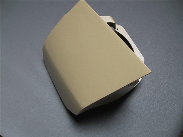 Afbeeldingen van koplamphuis, rechts, aluminium