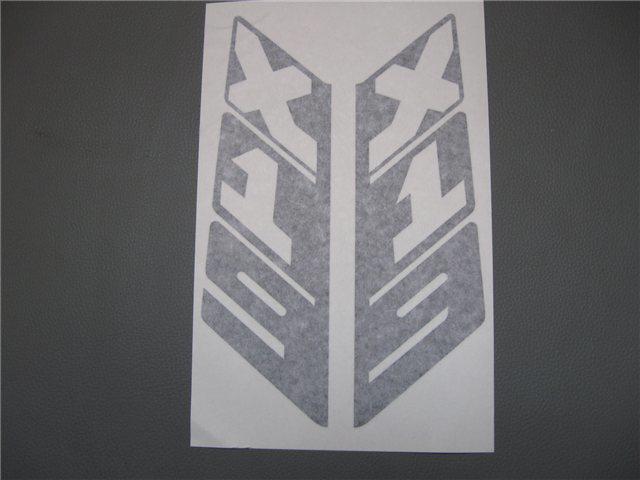 Afbeeldingen van stickers rollbar, vertikaal, zwart