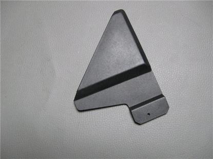 Afbeeldingen van kunststof driehoek bij buitenspiegel, links