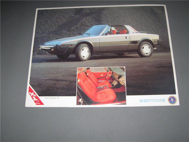 Afbeeldingen van Bertone X 1/9 IN, kaart