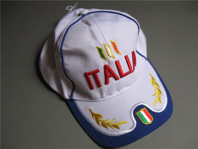 Afbeeldingen van cap Italia, wit