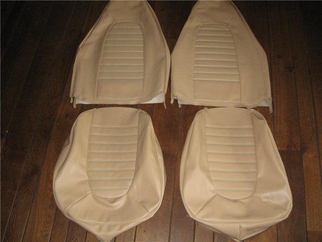Afbeeldingen van set stoelbekleding 1300, 1973-1975, beige