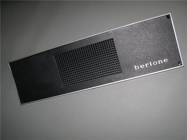 Afbeeldingen van radioplaatje BERTONE 1300