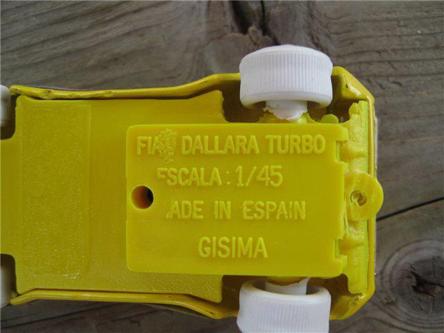Afbeeldingen van GISIMA Dallara 1:45