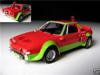 Afbeeldingen van Hachette 1:43 ABARTH model car