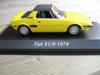 Afbeeldingen van MiniChamps 1:43 model, geel