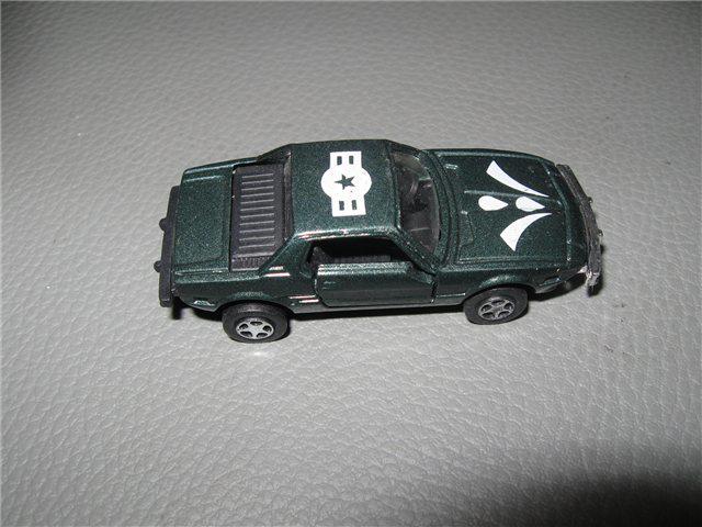 Afbeeldingen van model 1:59, groen metallic