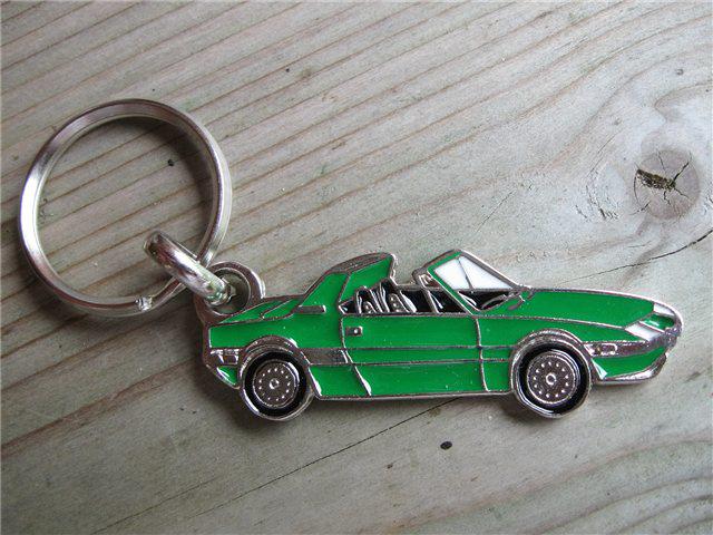 Afbeeldingen van sleutelhanger X 1/9, groen