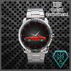 Afbeeldingen van horloge zwart, X 1/9 in rood