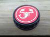 Afbeeldingen van tankvuldop met ABARTH embleem, rood